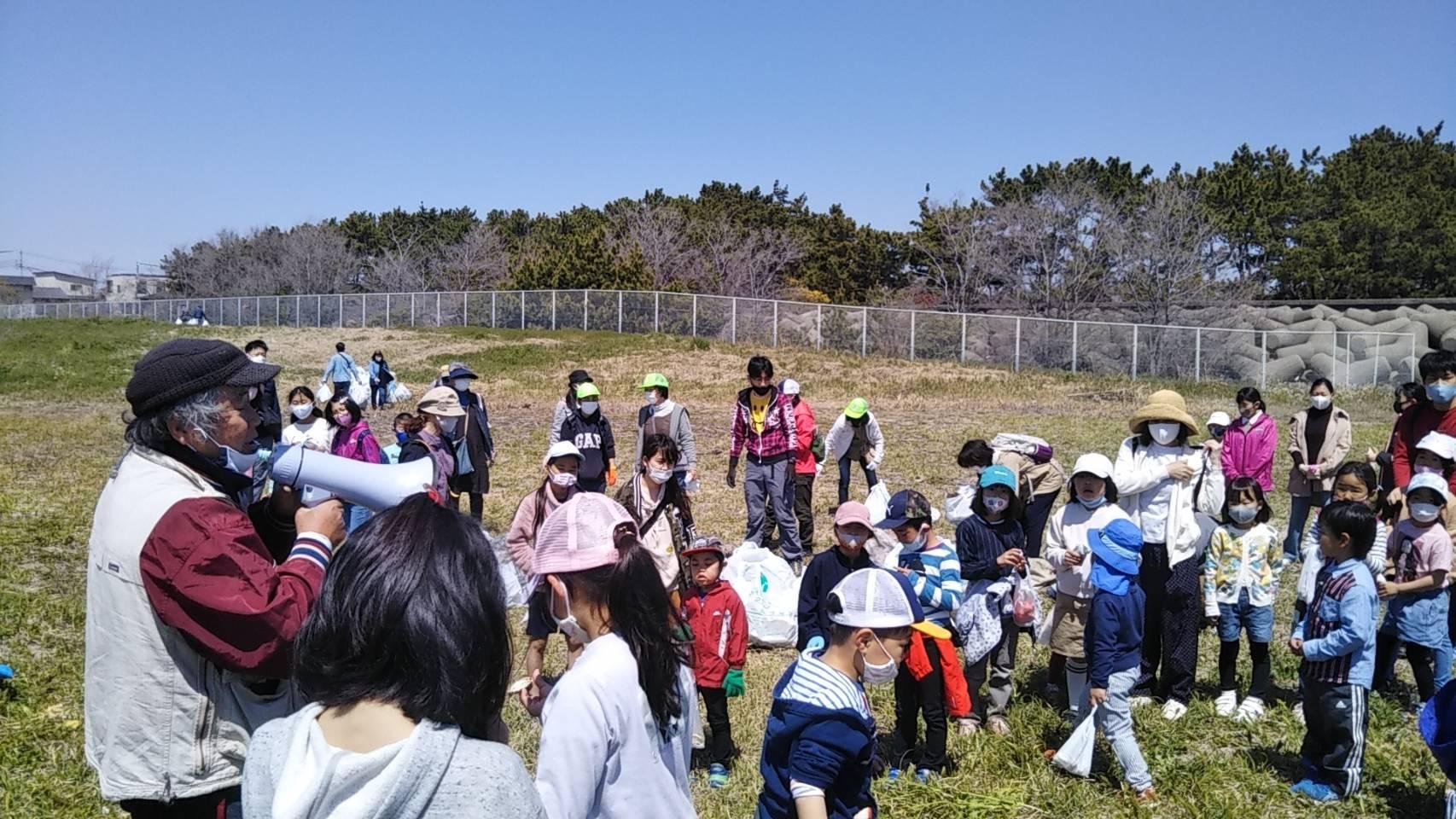 望海浜クリーンアップ作戦☆うみがめ隊